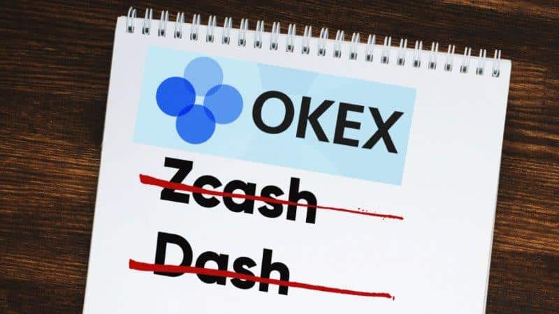 OKEx Halts Decision to Delist Zcash and Dash